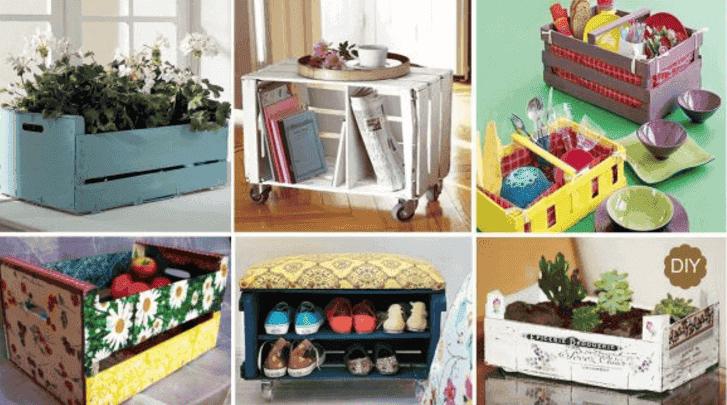 Hyödynnä laatikoita sisustuksessa – 7 hauskaa ideaa
