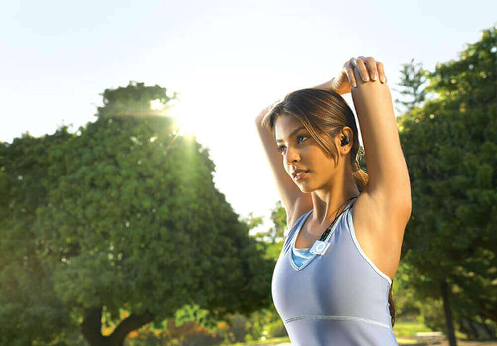 torju rintasyöpää olemalla aktiivinen