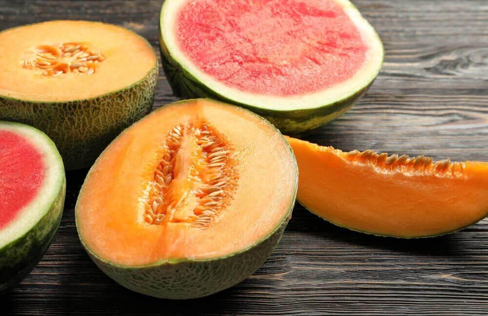 7 vältettävää ruokayhdistelmää: melonit ja muut ruuat.