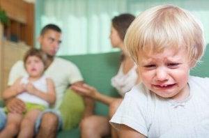 seurauksia vanhempien riitelystä lapselle