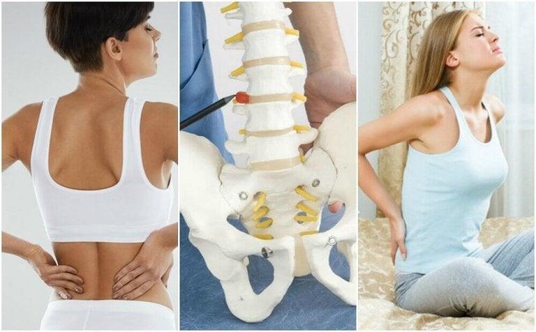 8 fyysistä ongelmaa, jotka aiheuttavat selkäkipua