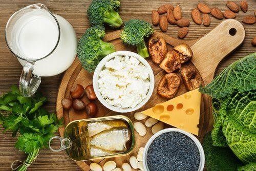 muutoksia nelikymppisen ruokavalioon: enemmän kalsiumia