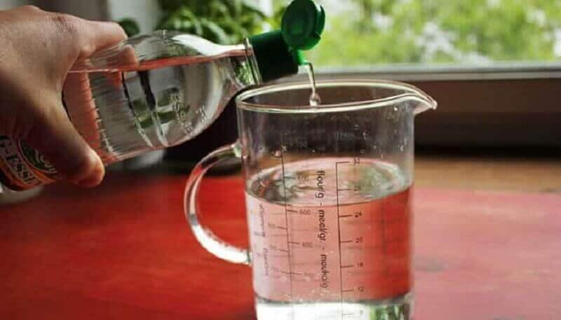 etikka ja vesi