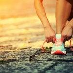 kiinteytä reidet lenkkeilemällä