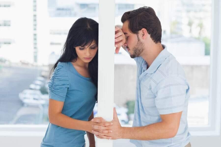 seinä rakkauden ja tottumuksen välillä