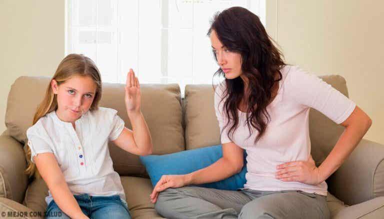 Kuinka lapsen uhman saa hallintaan
