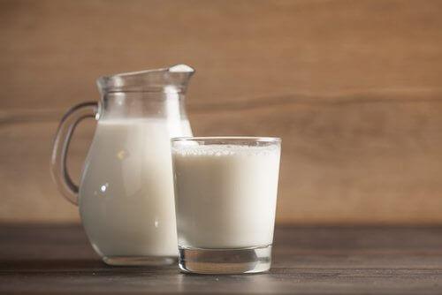 puhdista sisäkasvien lehdet maidolla