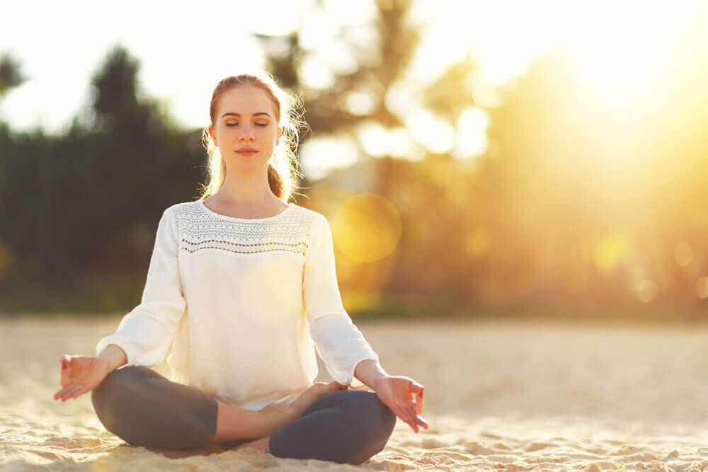 hae positiivista energiaa meditoinnista