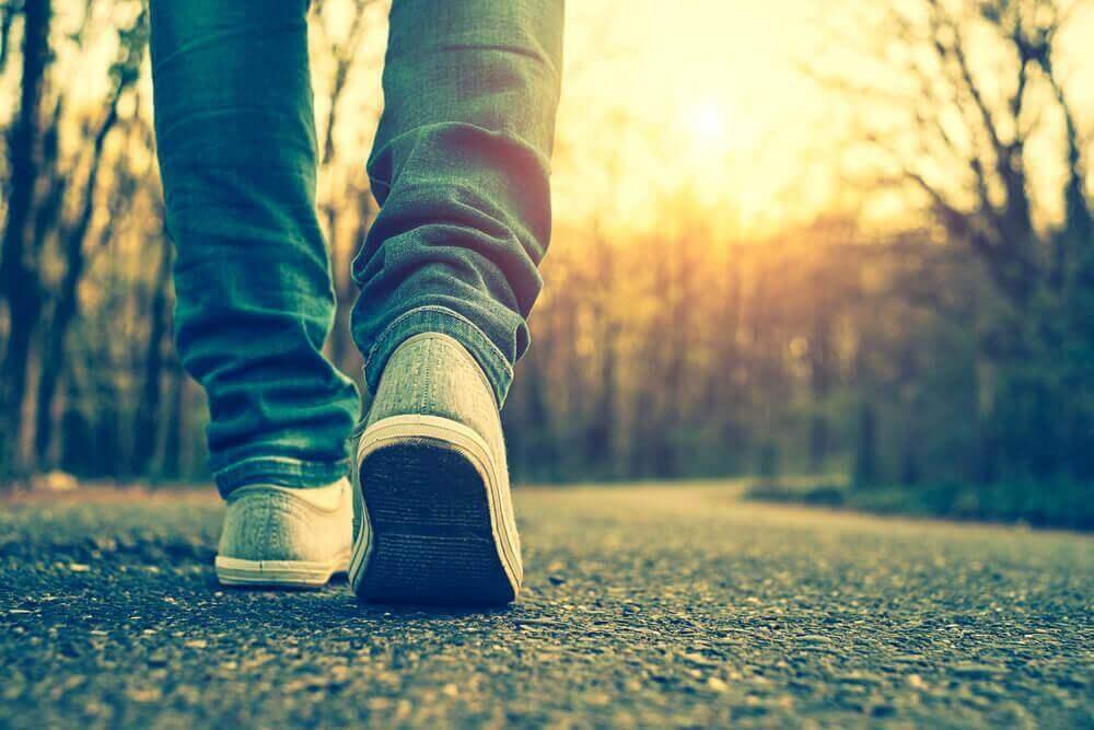 päivittäinen kävely on hyödyllistä