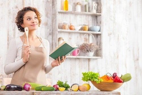 Suunnitellun ruokalistan avulla pudotat 4 kiloa kymmenessä päivässä.