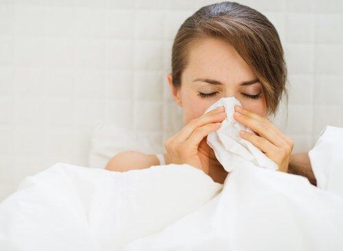 inkiväärihaudukkeet flunssaan