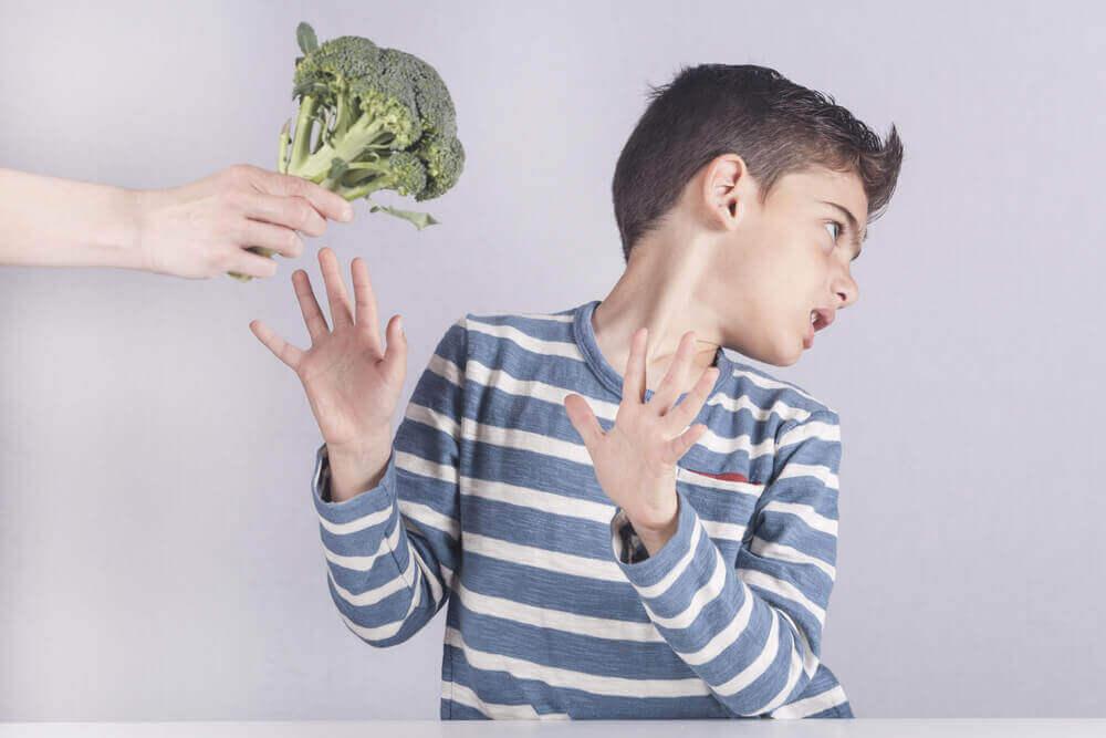 poika ei halua parsakaalia
