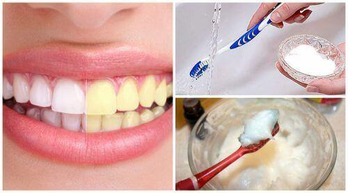 ruokasooda hampaiden valkaisuun