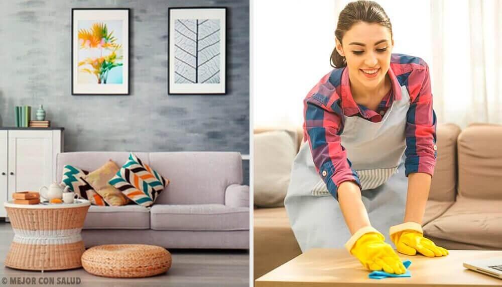5 siivoustapaa, joilla koti pysyy helposti kunnossa