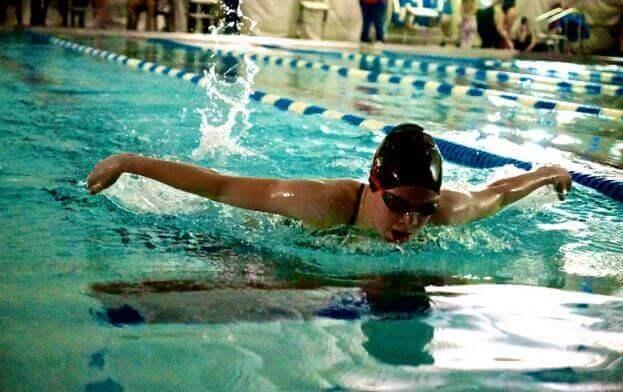 Uinti: koko kehon treeni