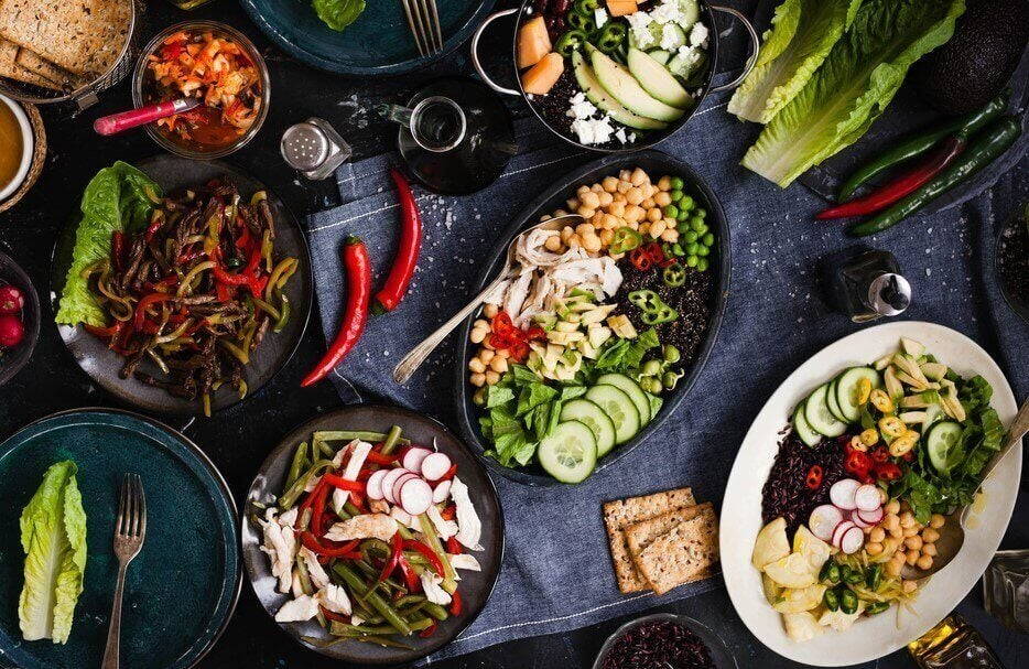 Kokeile vähärasvaista ruokavaliota aineenvaihdunnan nopeuttamiseen.