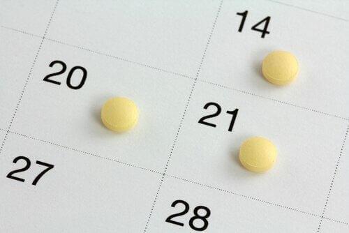 ehkäisymenetelmät ja kalenteri