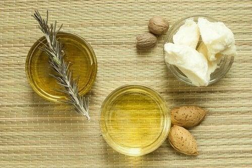 Kosteuta ihoa ihran ja manteliöljyn avulla.