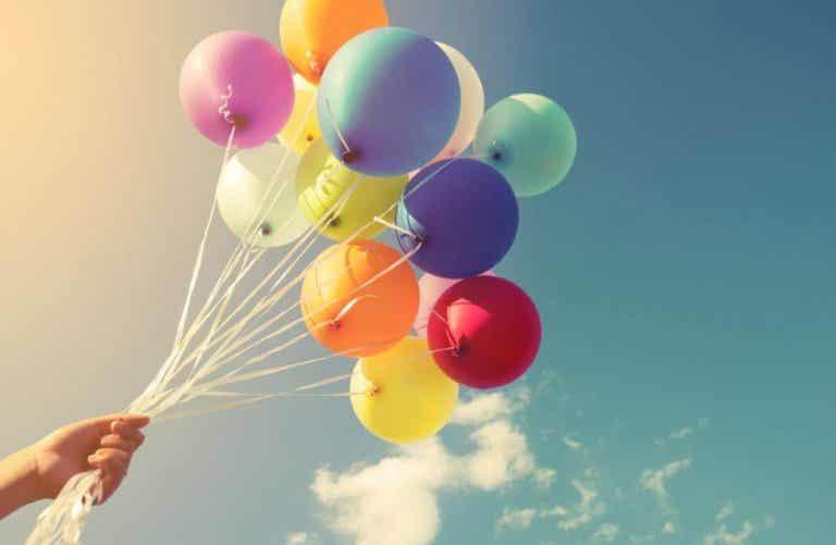 16 tapaa koristella ilmapalloilla