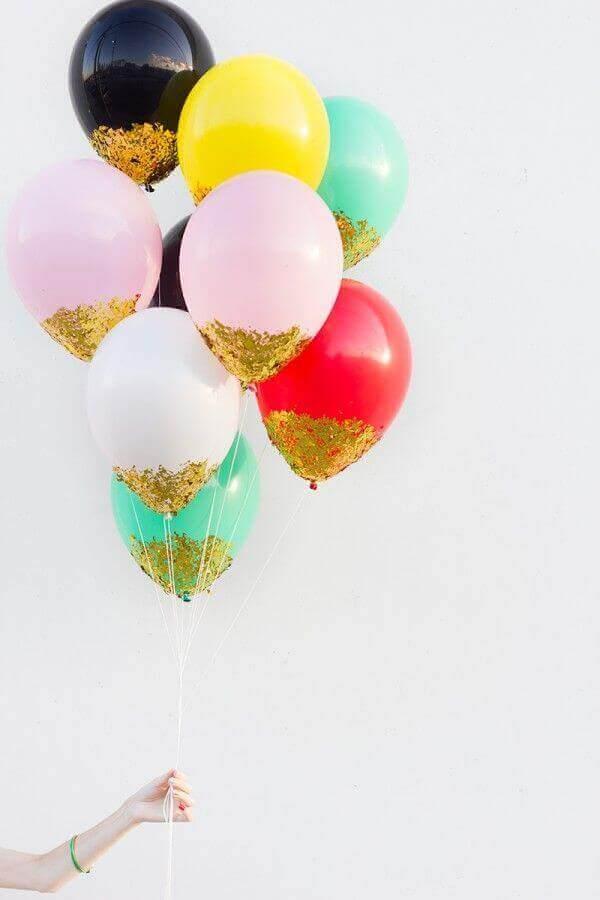 hileitä ilmapalloissa: voit koristella ilmapalloilla näinkin