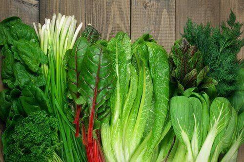 vihanneksia rivissä