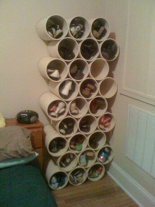 kenkähylly putkiloista