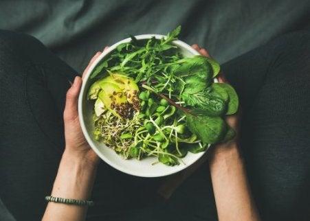 korealainen ruokavalio: paljon vihanneksia