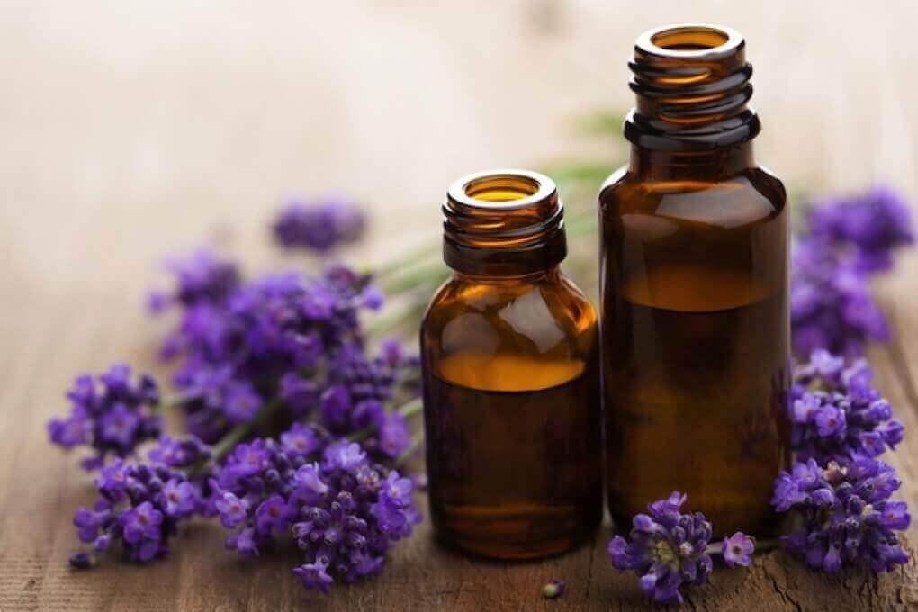 vaivaisenluiden hoitaminen laventelilla