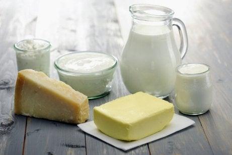 FODMAP-ruokavalio välttää maitotuotteita