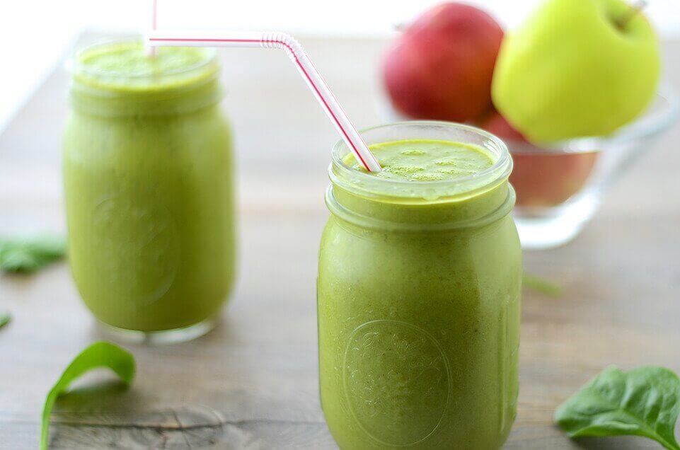 laihduta mehuilla: vihreä smoothie