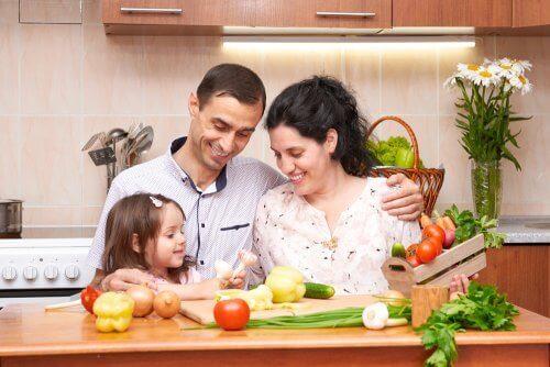 onnistuneeseen painonpudotukseen tarvitaan koko perheen tuki