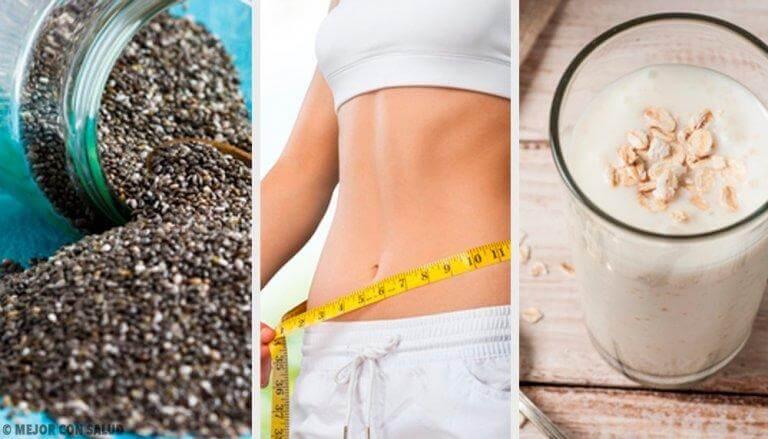 6 täydellistä ruokaa polttamaan rasvaa pois