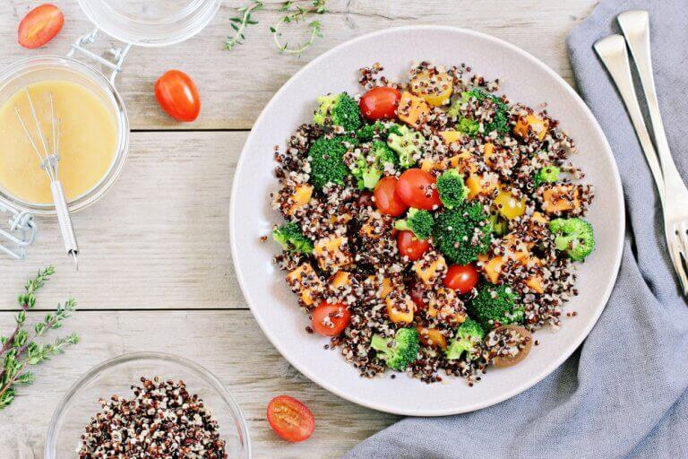 kvinoa-aterialla reidet ja pakarat kuntoon