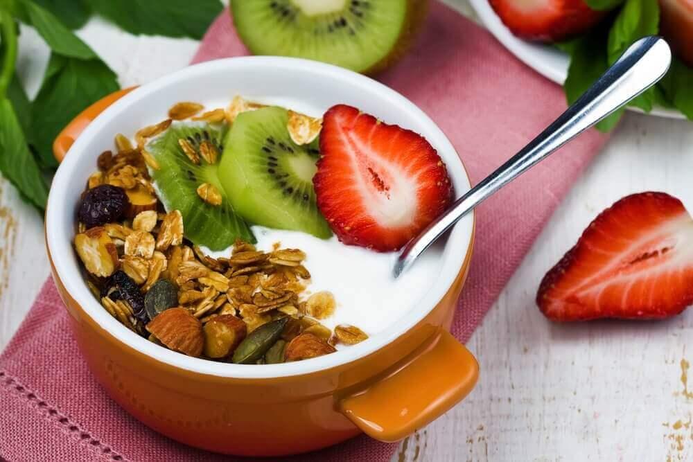 jogurtista aamupalaa diabeetikoille