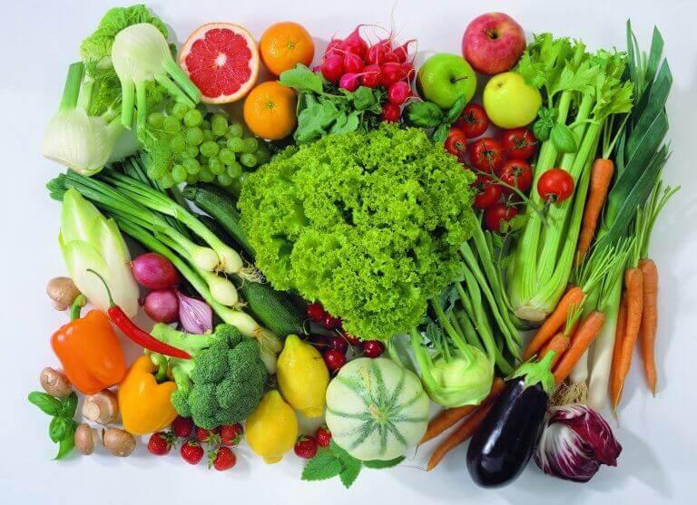 kasvikset ja hedelmät