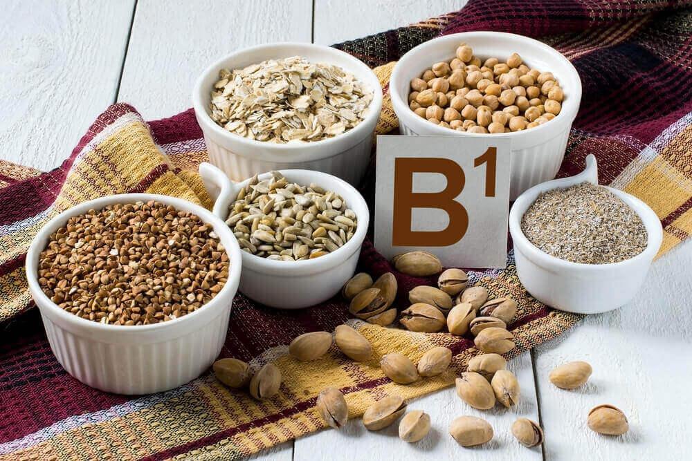 B1-vitamiinin lähteet