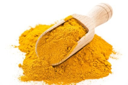 curry kaljuuntumisen hoitoon