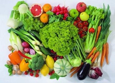 estrogeenia ruokavaliosta: vihannekset ja hedelmät