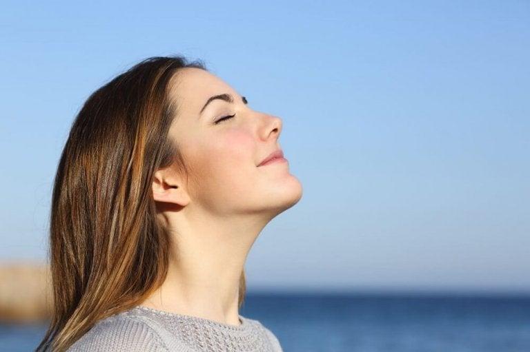 Oikeanlainen hengitys on tärkeää pH- tasapainon kannalta.