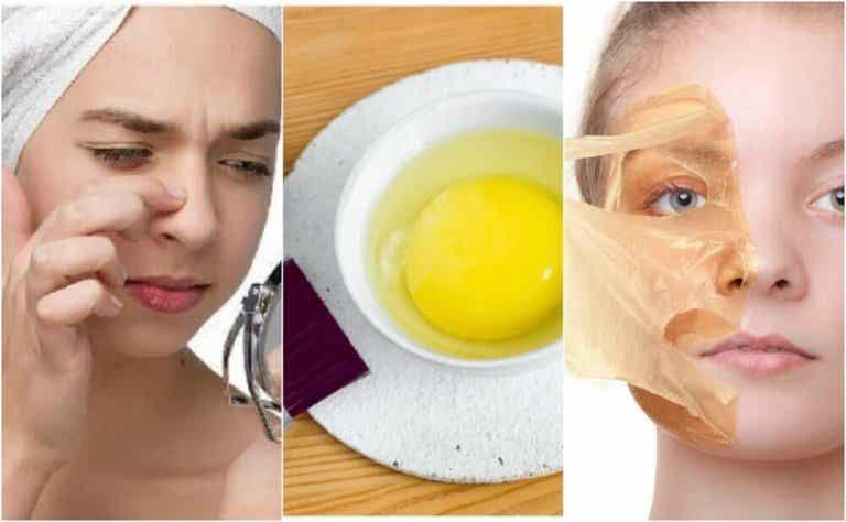 Viisi kananmunanaamiota ihon kaunistamiseen