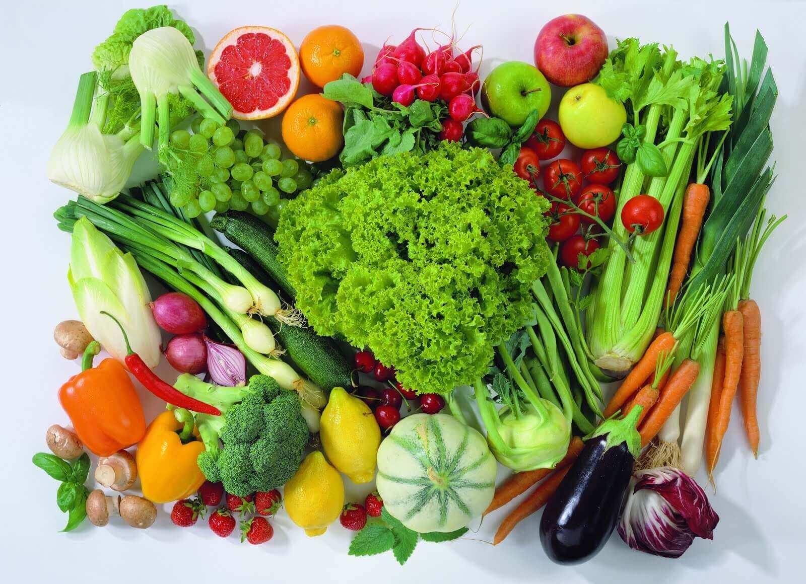 hedelmät ja vihannekset