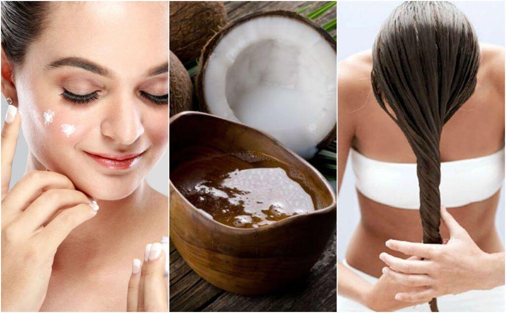 5 loistavaa tapaa käyttää kookosöljyä kauneudenhoidossa
