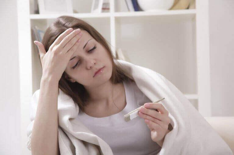 timjamin terveyshyödyt: hoida kuumetta
