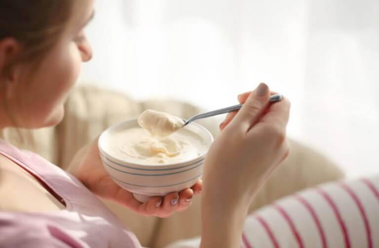 lisää lihasmassaa syömällä jogurttia