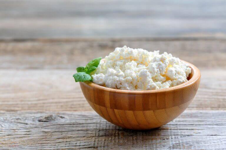 lisää lihasmassaa syömällä raejuustoa