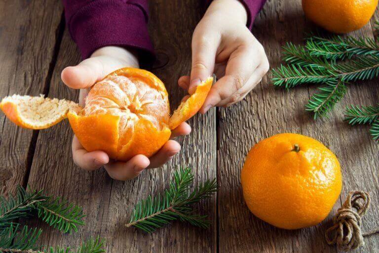 6 hyvää syytä syödä mandariineja