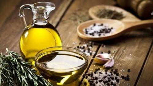 oliiviöljyä kuorsauksen lopettamiseksi