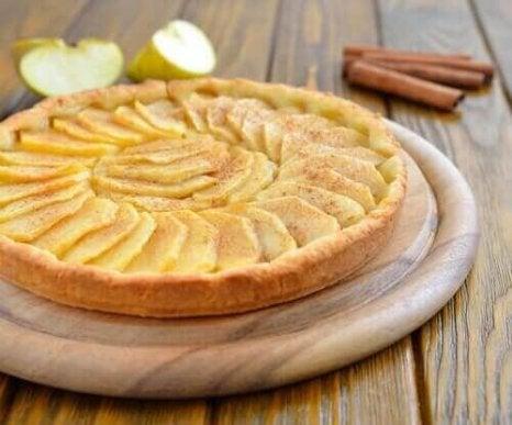 Kokeile tätä helppoa omenapiirakkareseptiä.