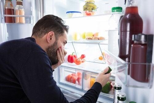 pahoja hajuja jääkaapissa