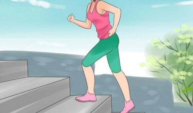 liikuntalajeja korkeaan verenpaineeseen: portaiden nousu